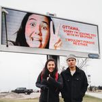 Canadian YouTuber Puts Up Billboard In Ottawa To Announce She's Moving