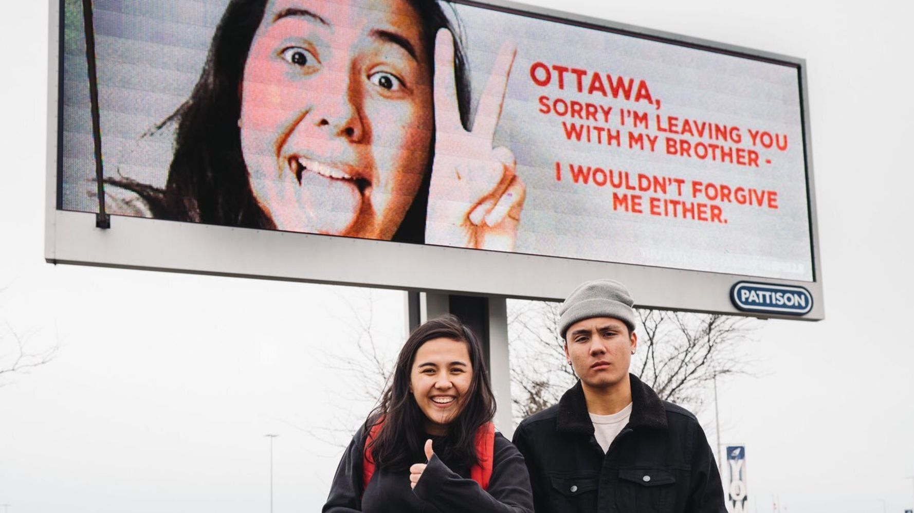 Elle Mills, Canadian YouTuber, Marked Her Departure From Ottawa With A Giant Billboard