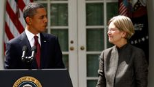 Elizabeth Warren's New Ad Reminds Voters Of Her Alliance With Obama