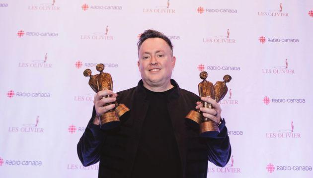 Mike Ward a remporté quatre statuettes au 21e gala Les