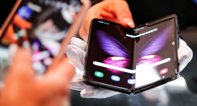 The Samsung Galaxy Fold 5G