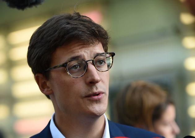 Le député Sacha Houlié, ici à Tours le 10 décembre