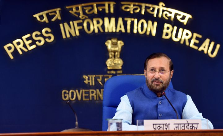 Minister of Environment, Forest and Climate Change and Minister of Information and Broadcasting Prakash Javadekar in a file photo.