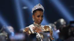 Elle est la première femme noire avec des cheveux crépus à remporter Miss