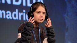 EN DIRECTO: rueda de prensa de Greta Thunberg en la