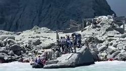 Συγκλονιστικές εικόνες από τη Νέα Ζηλανδία - Βίντεο καταγράφει την έκρηξη του ηφαιστείου και τον τρόμο