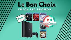 La PS4 Pro et 5 jeux en promo sur Cdiscount, on valide ou
