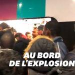 Des scènes de cohue impressionnantes à Gare du Nord à
