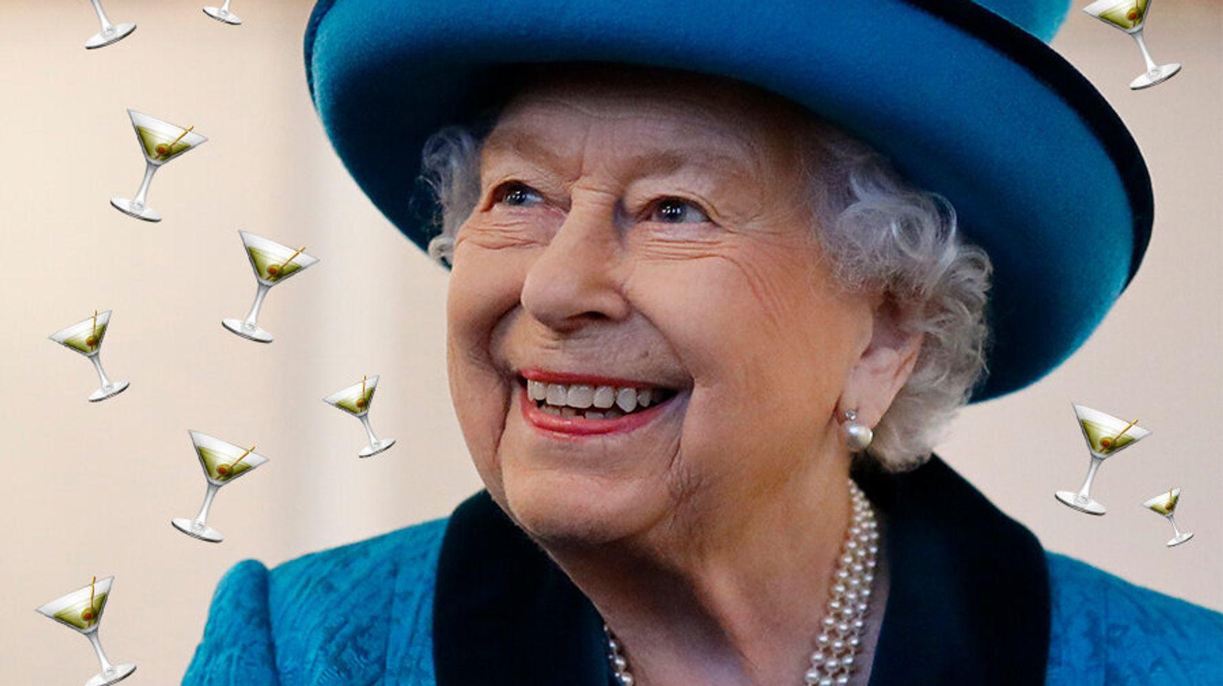 Martini, Your Maj? Queen's Favourite Festive Tipple Revealed
