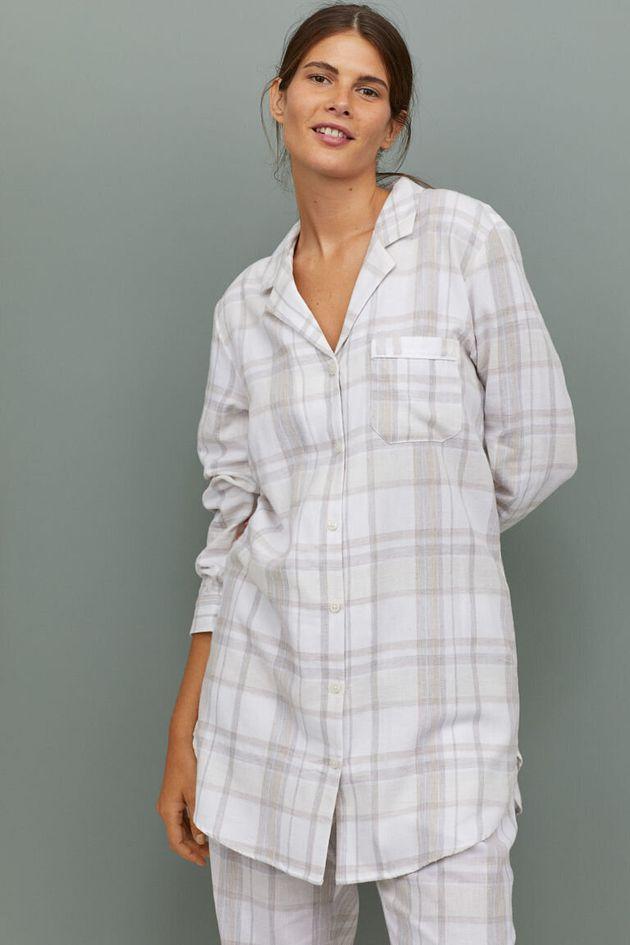 Flannel Nightshirt, H&M, £17.99