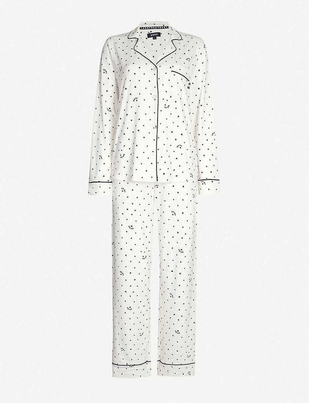 DKNY Star-Print Fleece Pyjama Set, Selfridges, £78