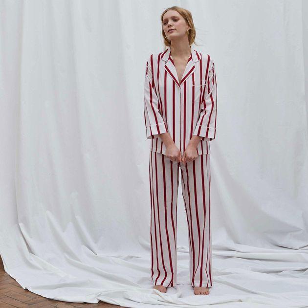 Red Stripe Pyjama Set, Honna, £95