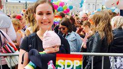 Sanna Marin al pride finlandese è il simbolo dei diritti civili