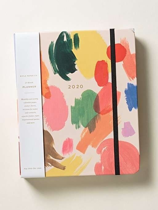 """<a href=""""https://fave.co/2rwNvng"""" target=""""_blank"""" rel=""""noopener noreferrer"""">Rifle Paper Co Palette 2020 Academic Diary, Oliver Bonas,</a> &pound;32.50"""