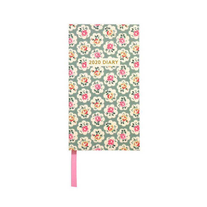 """<a href=""""https://fave.co/36iHKIE"""" target=""""_blank"""" rel=""""noopener noreferrer"""">Provence Rose Slimline Diary, Cath Kidston,</a> &pound;9.80"""