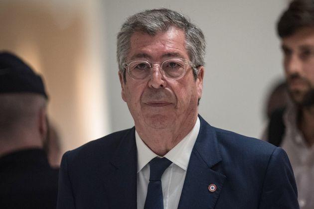Patrick Balkany, le 13 mai 2019, au premier jour de son