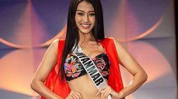 Miss Myanmar è la prima concorrente di Miss Universo apertamente