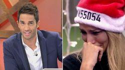 Santi Burgoa hace llorar a Alba Carrillo con su mensaje sorpresa en 'GH VIP