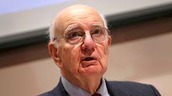 L'ancien président de la Fed Paul Volcker est