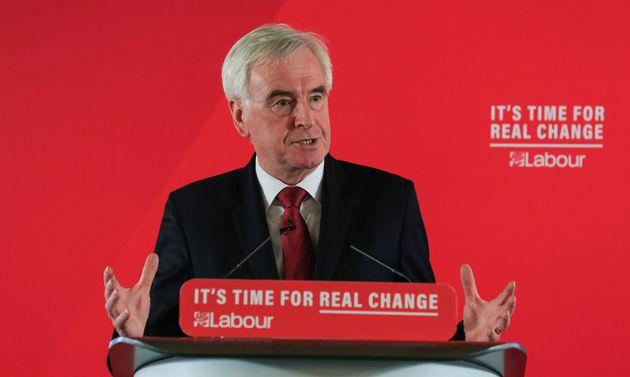 John McDonnell Predicts 'Shock' General Election Result Will Stop Boris Johnson