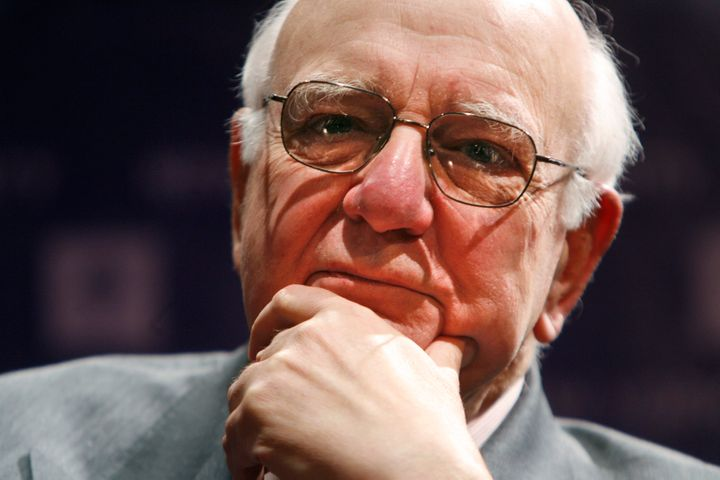 Former Federal Reserve Chairman Paul Volcker in 2009.