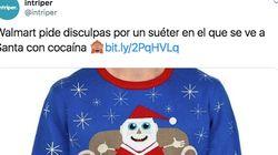Este supermercado tiene que pedir perdón por un jersey con un Papá Noel, una sustancia blanca y la frase