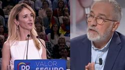 Xavier Sardà destroza a Álvarez de Toledo con una sola frase en 'Al Rojo