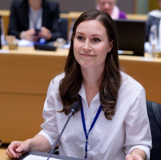 A ex-ministra dos Transportes Sanna Mirella Marin, neste domingo (8), foi eleita como primeira-ministra...