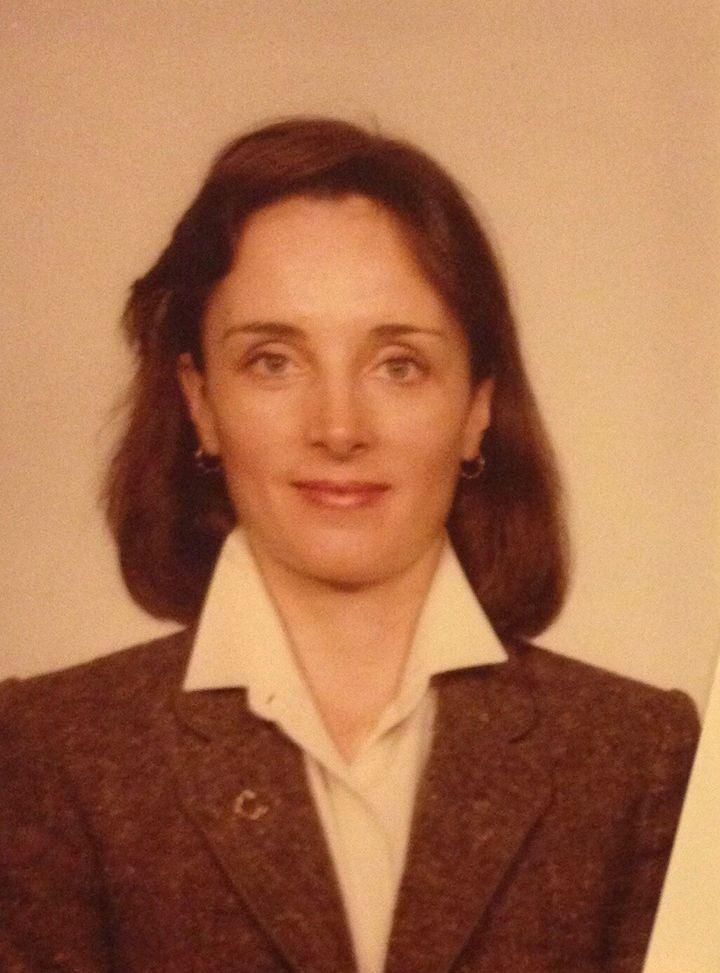 Matthews' CIA badge in 1980.