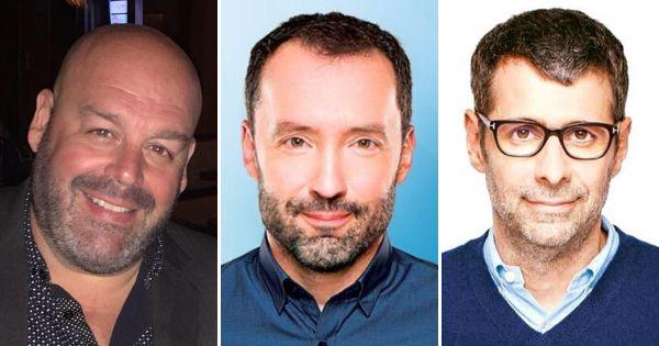 Stéphan Dupont, Sylvain Bouchard et Éric Duhaime.