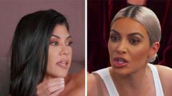 Kim Kardashian Goes Off On Kourtney For Having 'Too Many F**king