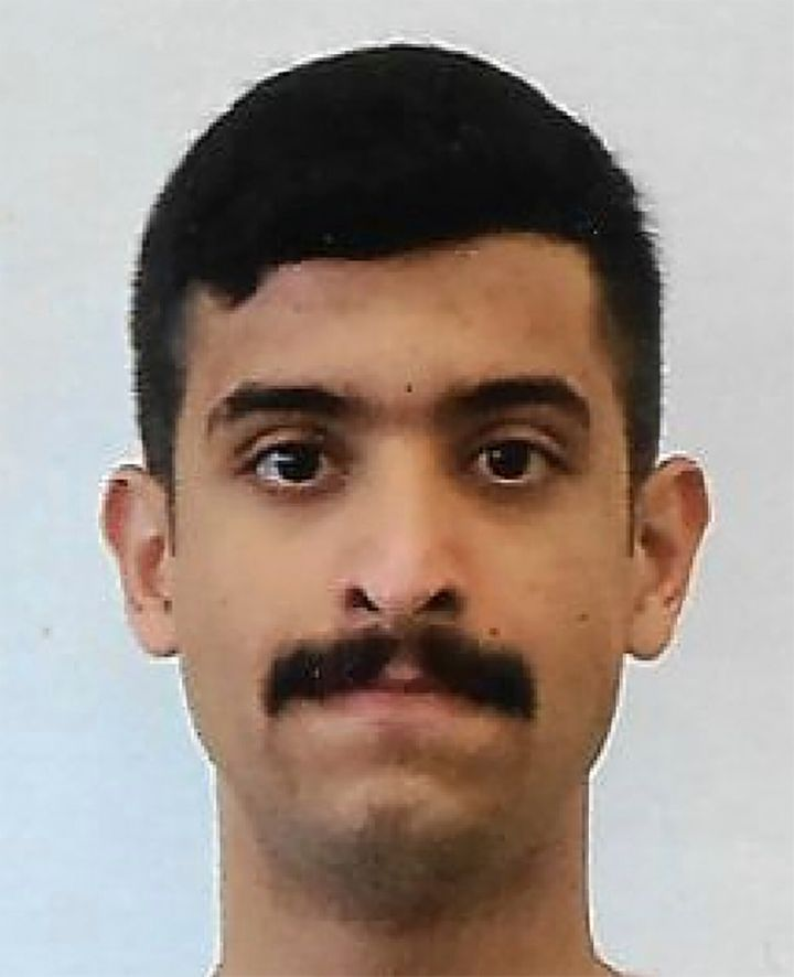 This undated photo provided by the FBI shows Mohammed Alshamrani. The Saudi student opened fire inside a classroom at Naval A
