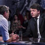 Formigli si arrabbia con Renzi: