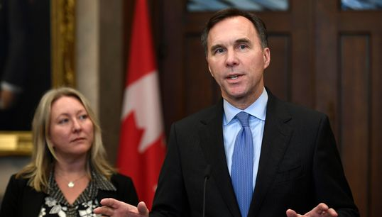 Liberals' Proposed Tax Cut Will Help 20 Million Canadians, Morneau