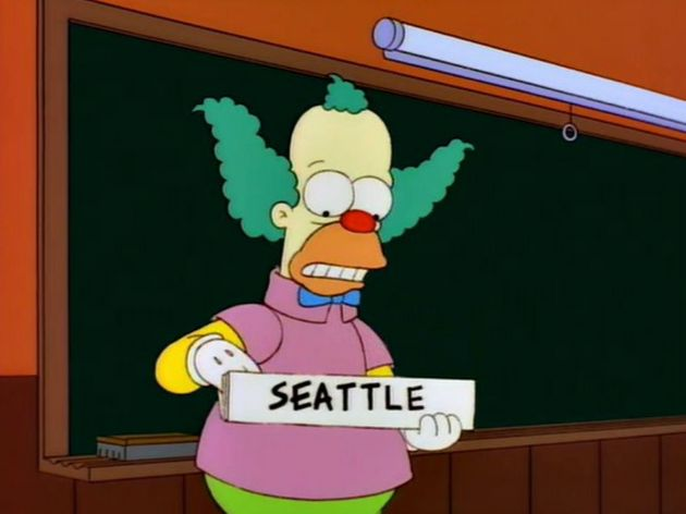 Marge vs. The Monorail became a reality for citizens of Seattle in