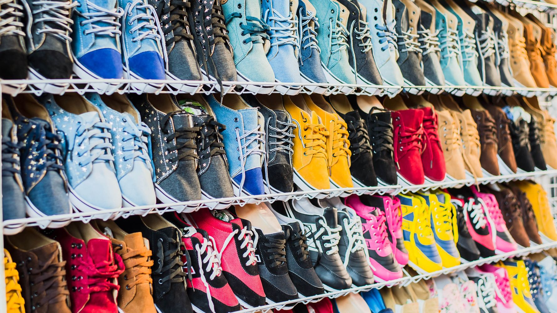Colourful Sneakers For The Sporty Person In Your Life