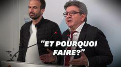 Jean-Luc Mélenchon a une drôle de raison de ne pas faire