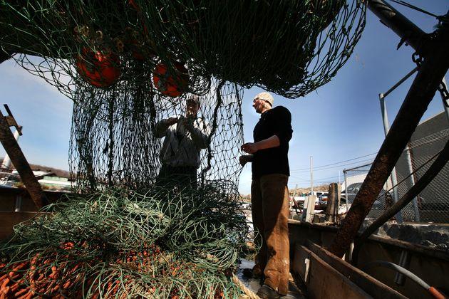 Fishermen in Gloucester,