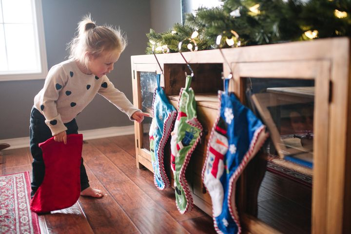 The stockings were hung by the&nbsp;<i>dresser</i> with care...