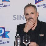 Miguel Bosé, irreconocible y emocionado en su última publicación en