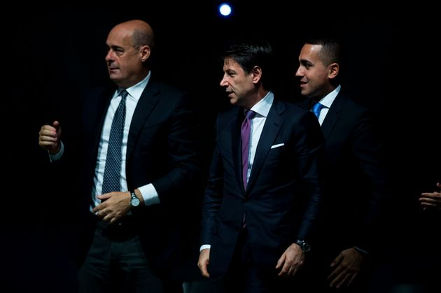 NARNI, ITALY - OCTOBER 25: General Secretary of Democratic Party (PD) Nicola Zingaretti, Italian Prime...