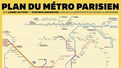 Voici à quoi ressemble le métro parisien ce