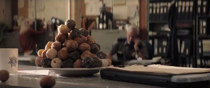"""A screenshot of a pile of Timbits from the """"Ghostbusters: Afterlife"""" trailer."""