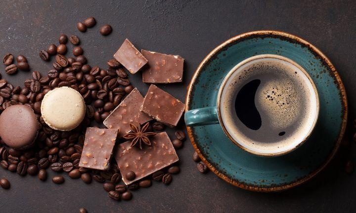 """Café e chocolate estão incluídos na dieta """"amiga"""" do coração."""