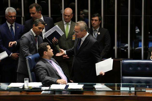 Interlocutores afirmam que Renan, que já presidiu o Senado por quatro vezes, virou um dos principais...