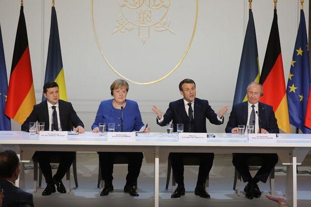 Paris, Berlin, Kiev, Moscou, une farce de l'Otan qui ne trompe pas Poutine !