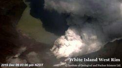 ニュージーランド・ホワイト島噴火でさらに8人が行方不明に 取り残され死亡か