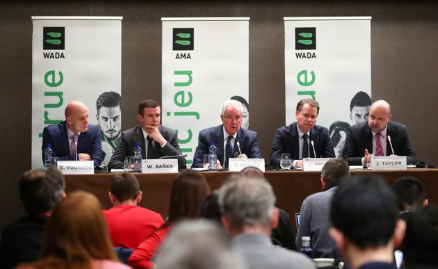 WADA Director, Intelligence and Investigations, Gunter Younger, WADA President-Elect, Witold Banka, WADA...