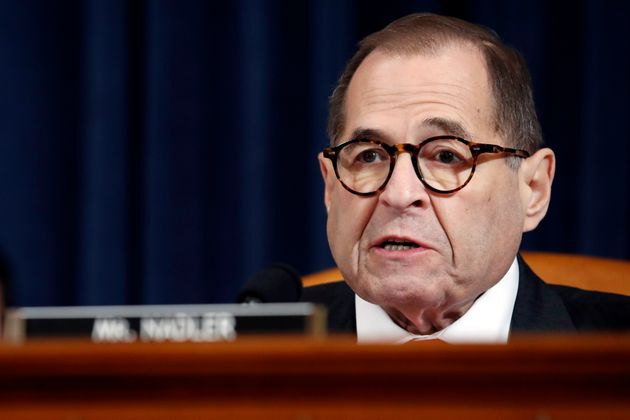 House Judiciary Committee Chairman Rep. Jerrold Nadler, D-N.Y., gives closing remarks as the House Judiciary...