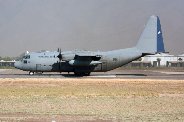 Αγνοείται C-130 της Πολεμικής Αεροπορίας της Χιλής με 38
